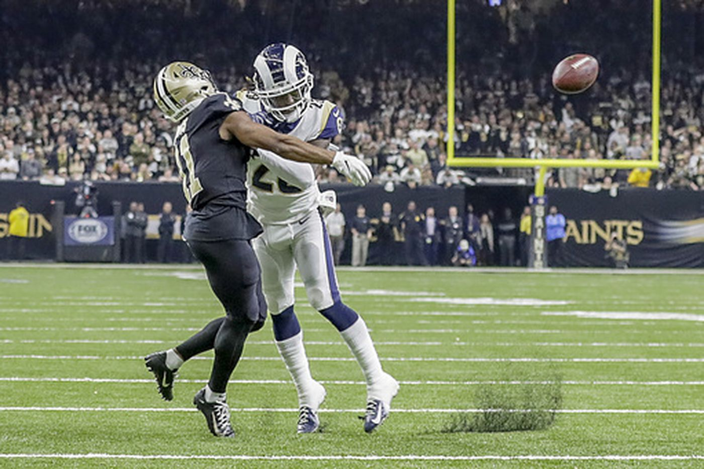 83c93a3ce Los Angeles Rams Beat New Orleans Saints In Controvery - The Runner ...