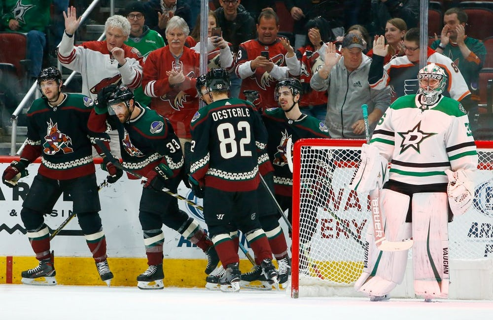 check out 5f17f bec9b Dallas Stars' Late Third Period Rally Not Enough To Overcome ...