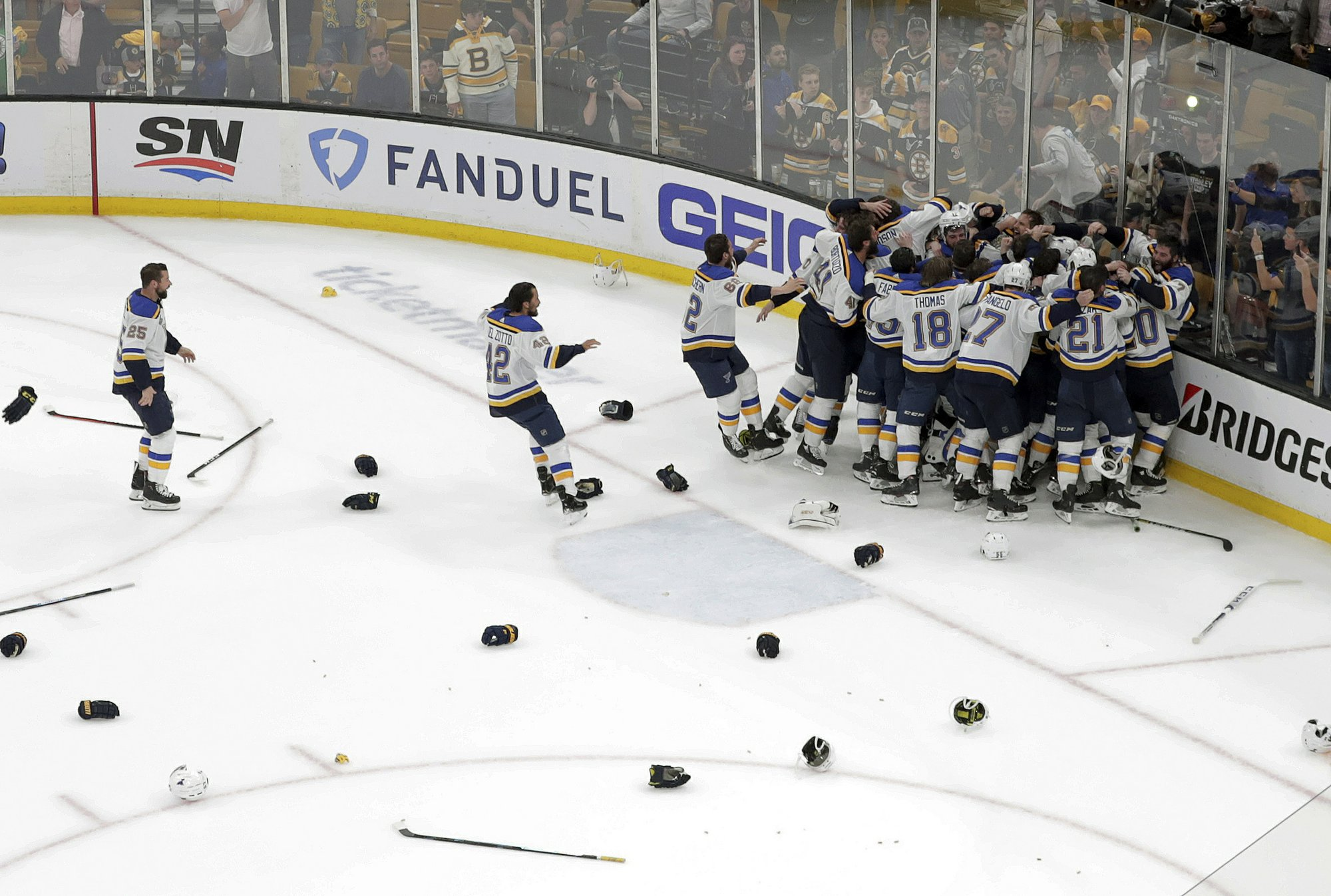 a49d409e046 St. Louis Blues Overcome Boston Demons, Become Stanley Cup Champions ...
