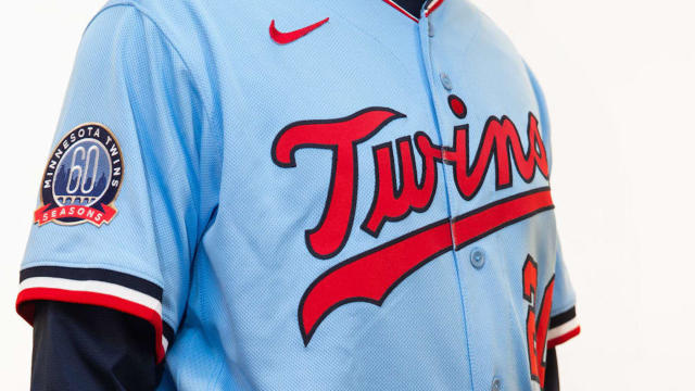 Minnesota Twins Bring Back Baby Blue Uniforms The Runner